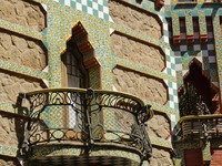 Испания. Барселона. Vicens House. Фото pathastings - Depositphotos