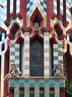Испания. Барселона. Casa Vicens by Gaudi. Фото Ferenc Ungor - Depositphotos