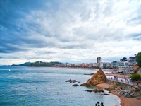 Испания. Коста Брава. Льорет-де-Мар. View of Lloret de Mar (Spain). Фото Svetlana Ignatenko - Depositphotos
