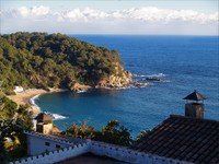 Испания. Коста Брава. Льорет-де-Мар. Beautiful landscape at Lloret de Mar. Фото Inna Jacquemin - Depositphotos