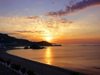 Испания. Коста Брава. Бланес. Sunrise on the Blanes. Costa Brava, Spain. Фото marina99 - Depositphotos