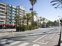 Испаиня. Коста Брава. Льоретт-де-Мар. Spain. Lloret de Mar Embankment.  Фото Vladimirs Koskins - Depositphotos