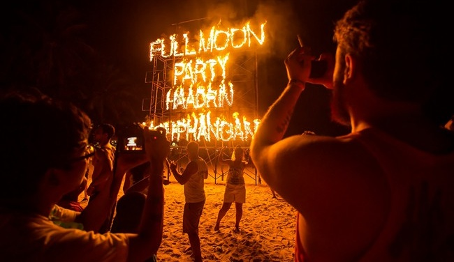 Клуб путешествий Павла Аксенова. Таиланд. О. Пханган. Full Moon Party. Koh Phangan. Thailand. Фото mazzzur - Depositphotos