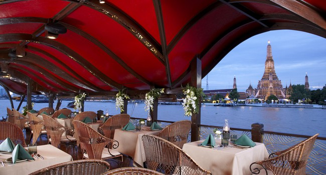 Клуб путешествий Павла Аксенова. Anantara Bangkok Riverside Resort & Spa. Manohra_Dining_cruises