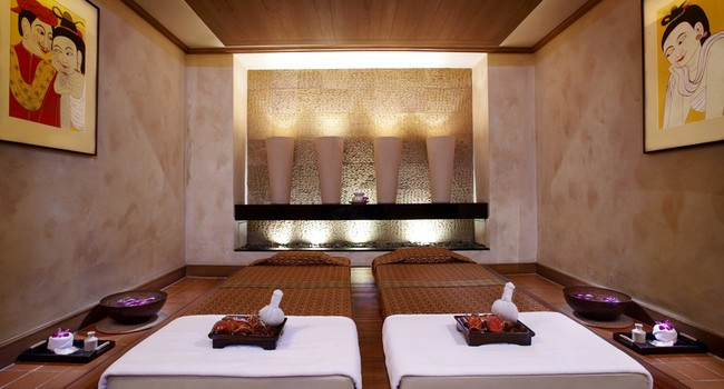 Клуб путешествий Павла Аксенова. Anantara Bangkok Riverside Resort & Spa. Anantara_Spa_Thai_massage_room