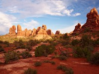 Red Desert, Arches National Park, Utah, USA. Фото Andrey Tarantin - Depositphotos