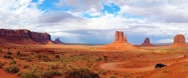 Panorama of Monument Valley United States National Park Utah Arizona. Фото C S - Depositphotos
