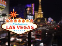 Welcome to Las Vegas Nevada. Фото Katrina Brown - Depositphotos