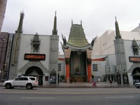 США. Лос-Анджелес. Grauman's Chinese Theater in LOS ANGELES. Фото Евгения Голова