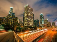 Los Angeles at night. Фото Sergey Borisov - Depositphotos