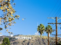Hollywood Sign, Los Angeles, California, USA. Фото Richard Semik - Depositphotos