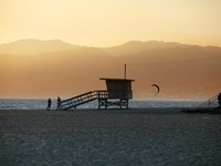 Lifeguard Station on Venice Beach in California. Фото Tatiana Morozova - Depositphotos