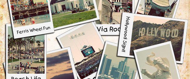 Los Angeles. Collage. Фото ricky-barnard