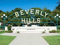 Beverly Hills sign in Los Angeles park. Фото Vaclav Schindler - Depositphotos