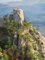 Крым. Top view of the valley of ghosts. Фото Givaga - Depositphotos