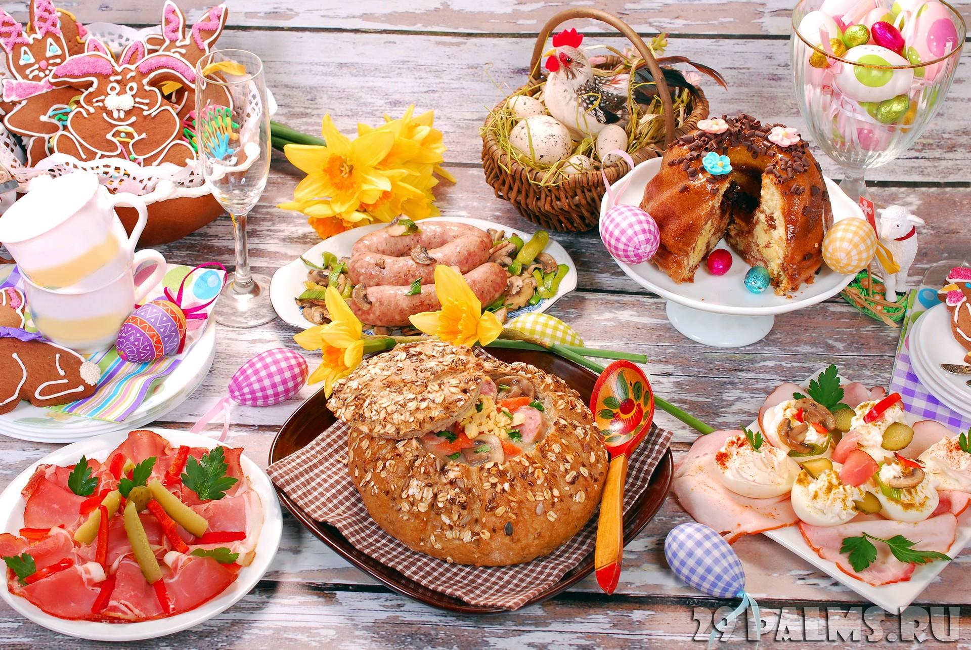 Пасхальные рецепты для праздничного стола в 2020 году разных стран мира