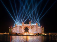 Блог Павла Аксенова. ОАЭ. Дубай. Jumeirah the Palm. Atlantis the Palm. Grand Opening Fireworks