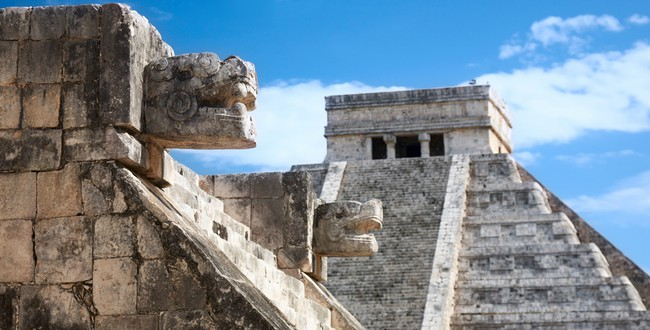 Chichen Itza, Mexico, view from the Venus platform. Фото Nataliya Hora - Depositphotos