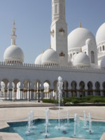 Клуб путешествий Павла Аксенова. ОАЭ. Абу-Даби. Мечеть шейха Зайда. Sheikh Zayed Mosque. Фото Александра Синицына