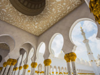 Клуб путешествий Павла Аксенова. ОАЭ. Абу-Даби. Мечеть шейха Зайда. Sheikh Zayed Mosque. Фото alan64 - Depositphotos