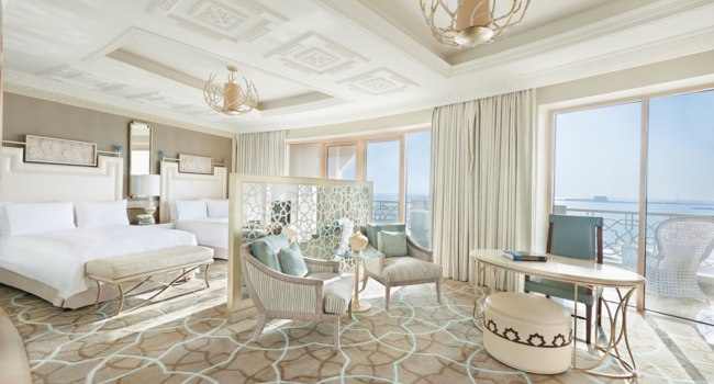 Клуб путешествий Павла Аксенова. ОАЭ. Waldorf Astoria Ras Al Khaimah. Deluxe Room Queen With Balcony and Seaview