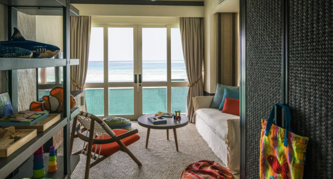 Private Island Maldives at Voavah. Two-bedroom Water Villa – StudyChildren's Room