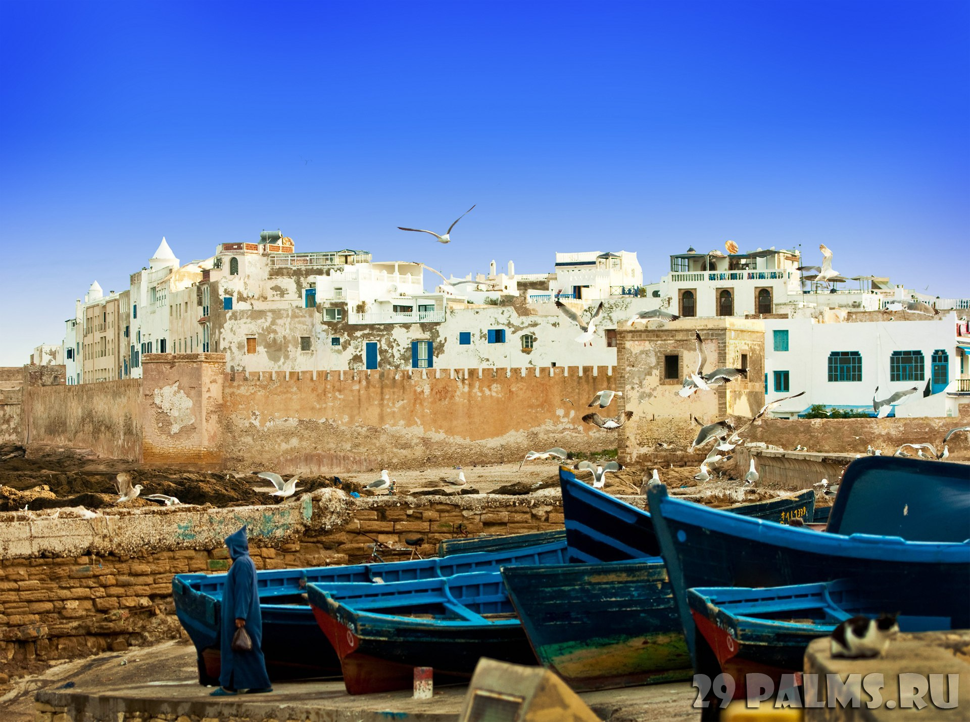 картинка фотография курорта Эс-Сувейра в Марокко