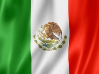 Mexican flag. Фото Laurent Davoust - Depositphotos