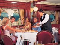 Royal Clipper. Dining waiter