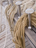 Royal Clipper. Rope