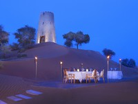 ОАЭ. Рас-эль-Хайма. Banyan Tree Al Wadi. Restaurant Safran. Destination Dining