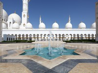 ОАЭ. Абу-Даби. Мечеть шейха Зайда. Sheikh Zayed Mosque in Abu Dhabi. Фото Philip Lange - Depositphotos