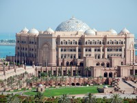 ОАЭ. Абу-Даби. Emirates Palace. Emirates Palace. Фото danielphoto - Depositphotos