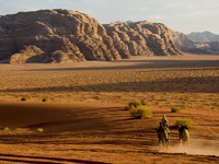 Иордания. Jordan. Wadi Rum also known as The Valley of the Moon in Jordan. julsphotoa - Depositphotos