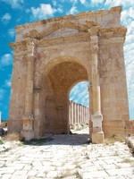 Иордания. Jordan. Ancient Jerash. Ruins of the Greco-Roman city of Gera at Jordan. waj197 - Depositphotos