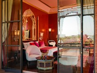 Марокко. Марракеш. Taj Palace Marrakech. Standard Room veranda view