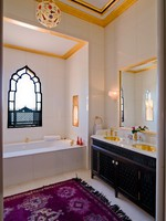 Марокко. Марракеш. Taj Palace Marrakech. Bathroom