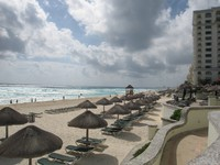 Мексика. Канкун. JW Marriott Cancun Resort & Spa. Фото Павла Аксенова